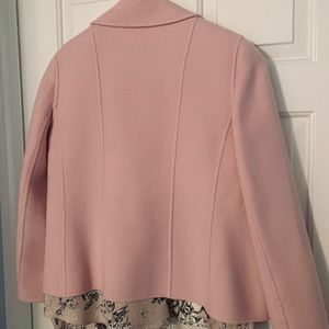 Ellen Tracy Jackets & Coats - Ellen Tracy Boiled Wool Jacket and silk blouse